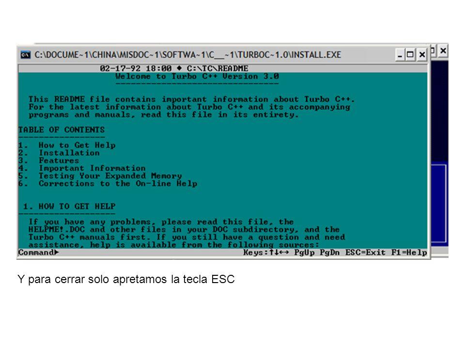 Ya esta instalado el programa, ahora vamos a entrar… Clic en Inicio / Todos los programas / Accesorios / Símbolo del sistema.