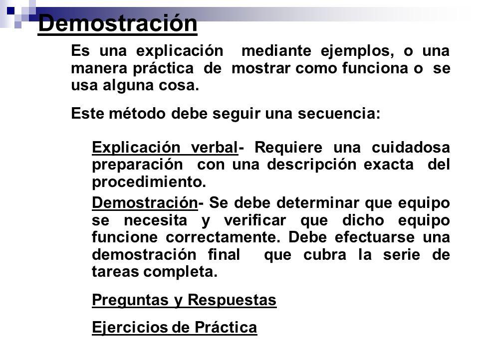Práctica del Estudiante La mejor manera de evaluar la destreza del estudiante es mediante la práctica.