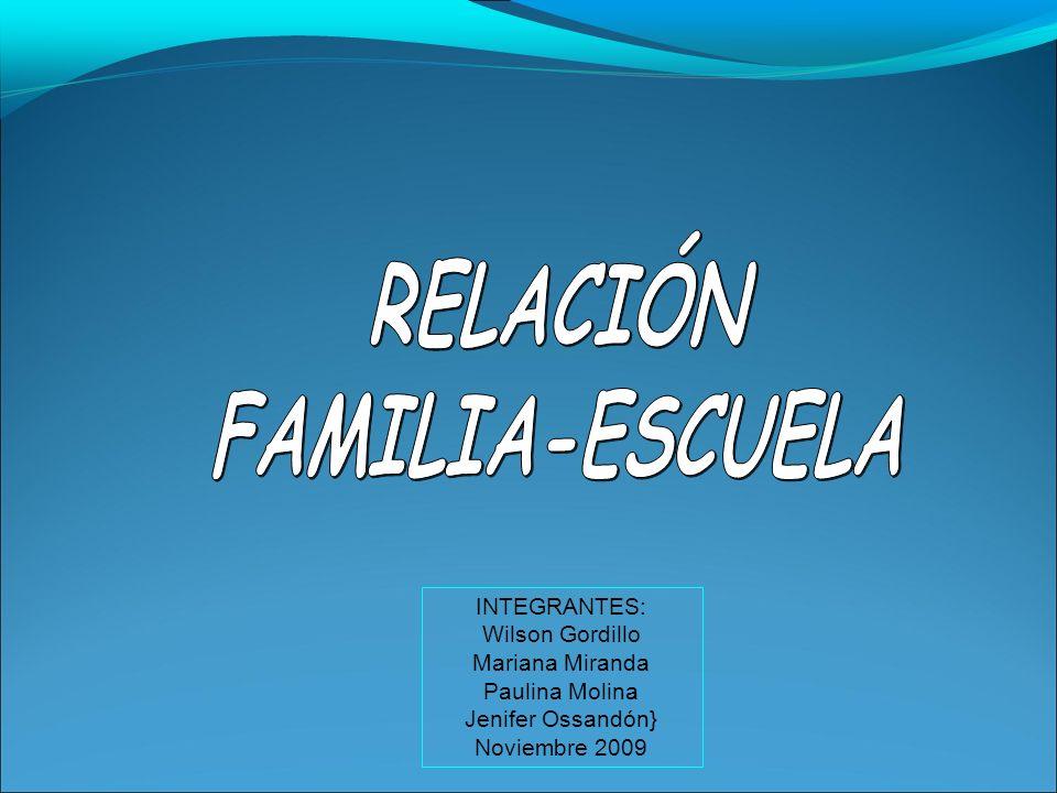 INTEGRANTES: Wilson Gordillo Mariana Miranda Paulina Molina Jenifer Ossandón} Noviembre 2009