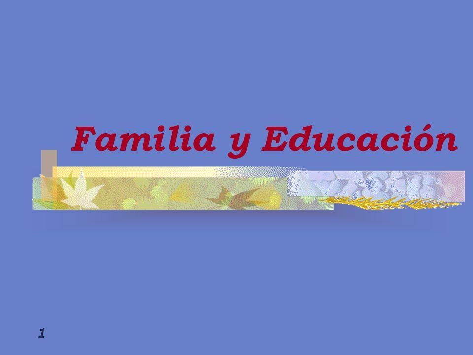 2 Estructura familiar Relaciones familiares Actitudes de la familia Escolaridad de los padres