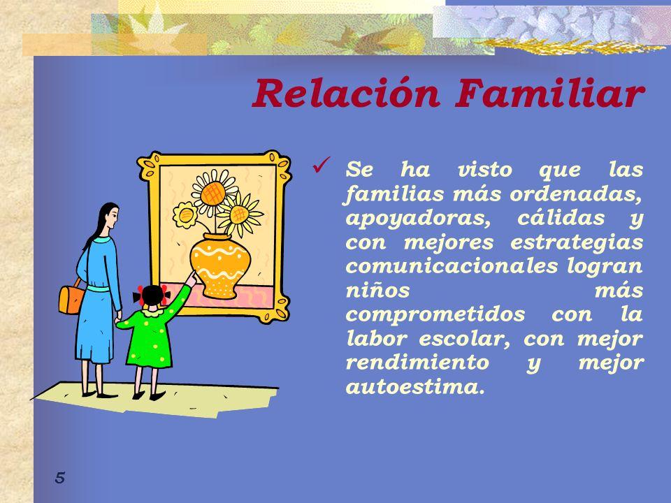 16 Familia suborganizada Deficiencia general de comunicación a través de la palabra que es sustituida por la intensidad de la acción física y el ruido.