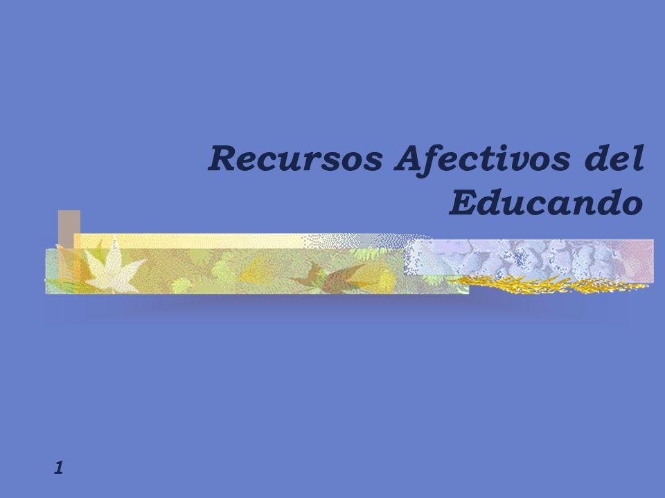 1 Recursos Afectivos del Educando