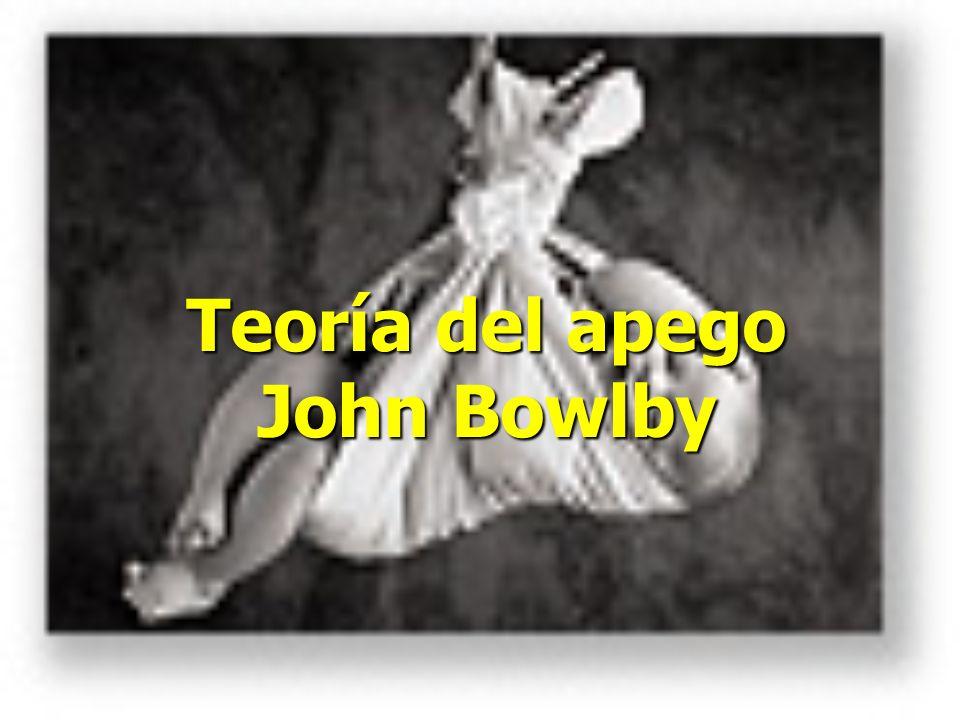 Teoría del apego John Bowlby