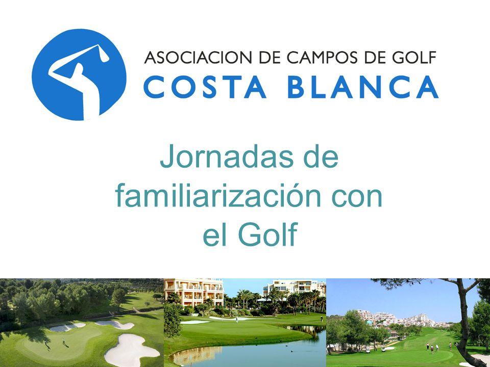 Jornadas de familiarización con el Golf