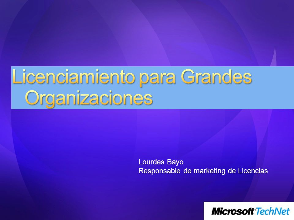 1.- Qué es una Gran Organización para Microsoft 2.