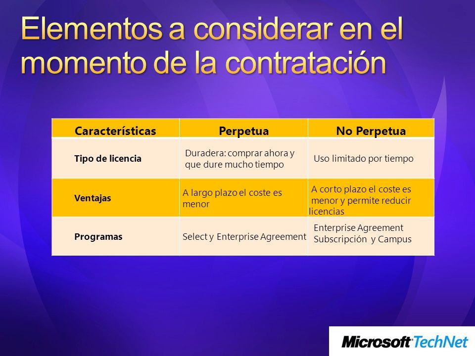 Los contratos para este tipo de organizaciones permiten la posibilidad de incluir en el mismo acuerdo a una amplia gama de estructuras y organizaciones de una compañía.