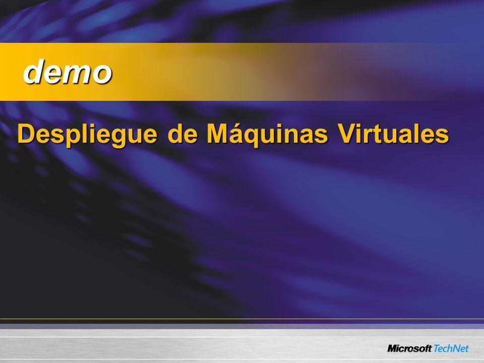 Despliegue de Máquinas Virtuales demo demo
