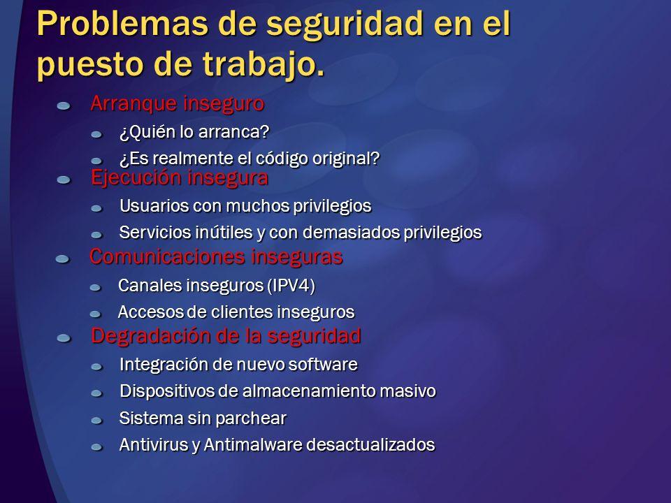 Contacto José Parada Gimeno ITPro Evangelist jparada@microsoft.com http://blogs.technet.com/padreparada/ http://blogs.technet.com/windowsvista