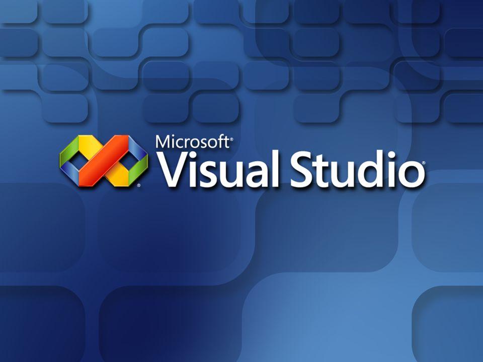 Visual Studio Team System Microsoft Solutions Framework (MSF) MSF es un conjunto integrado y configurable de procesos de desarrollo software, principios y prácticas probadas Visual Studio 2005 Team System proporciona por defecto 2 plantillas configurables de metodología MSF MSF for Agile Software Development MSF for CMMi® Process Improvement