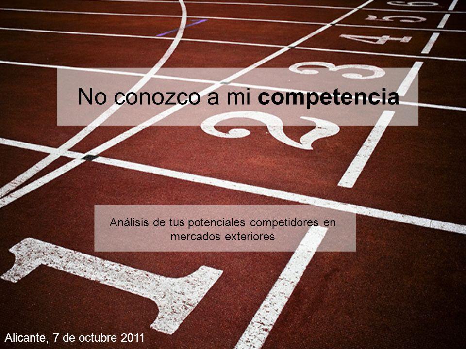 ESTRATEGIA DE COMUNICACIÓN La principal estrategia de comunicación de COMPETIDOR 1 es el desarrollo, a lo largo de los años, de un reconocido prestigio a nivel internacional, fruto tanto de la presencia en las principales ferias del sector como de los numerosos premios y reconocimientos internacionales.