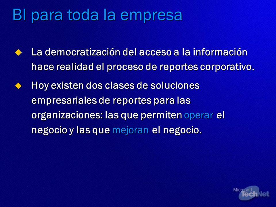 La democratización del acceso a la información hace realidad el proceso de reportes corporativo. La democratización del acceso a la información hace r