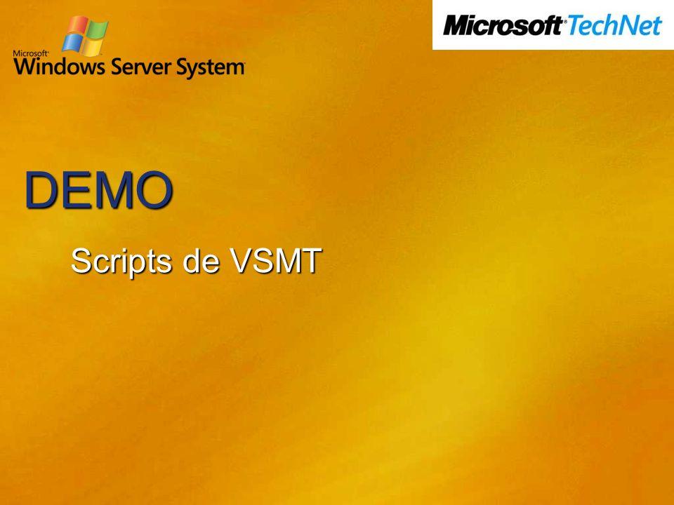 DEMO Scripts de VSMT