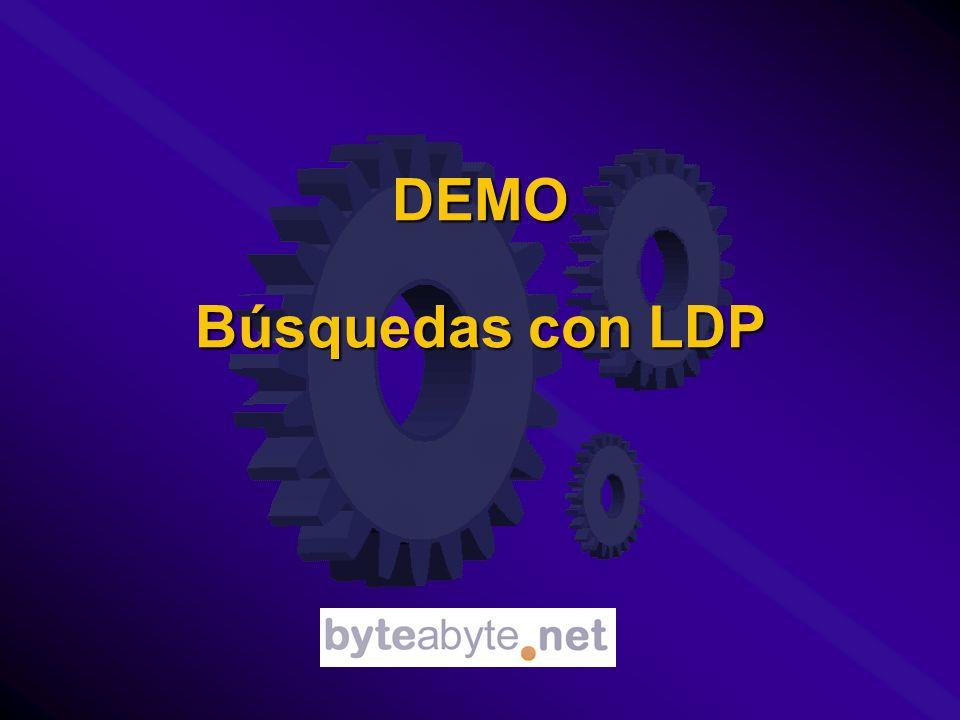 DEMO Búsquedas con LDP