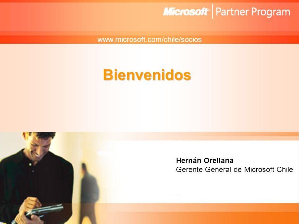 Confidencial de Microsoft Microsoft en Chile 14 años en el mercado.