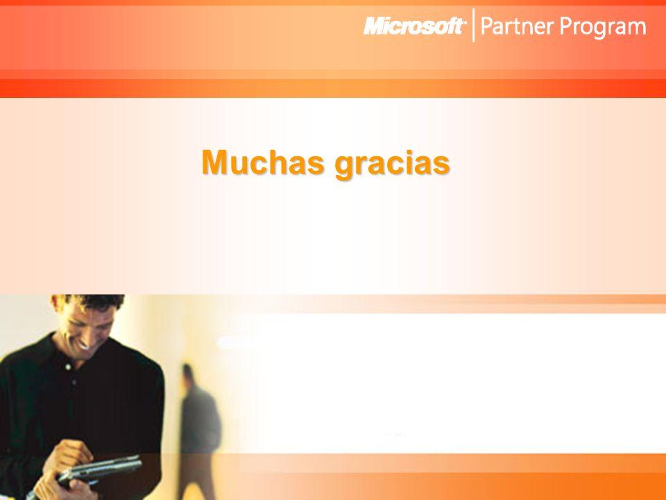 Microsoft Confidential Viviana Konstantynowsky Gerente de Marketing y Desarrollo para Socios de Negocios Microsoft Cono Sur Muchas gracias