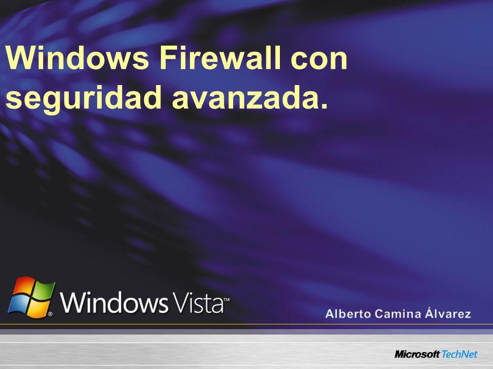 Windows Vista Firewall Configuración y como solucionar problemas.