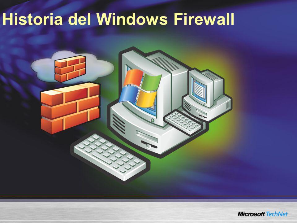 Características del Windows Firewall