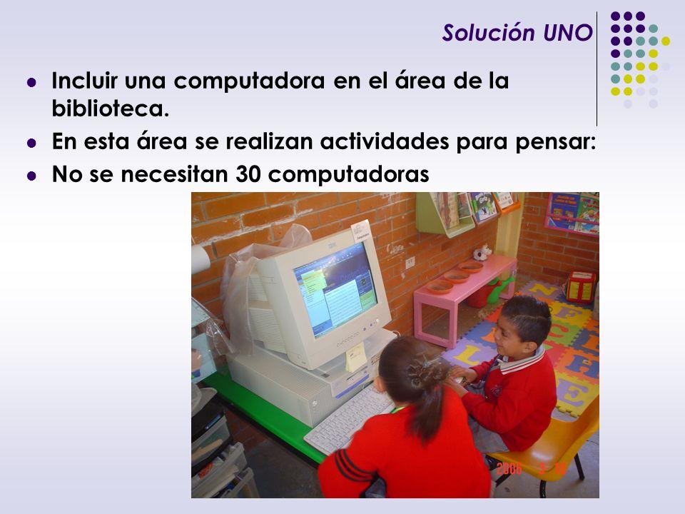 Solución DOS Diseño de situaciones didácticas que incorporen el uso de la tecnología