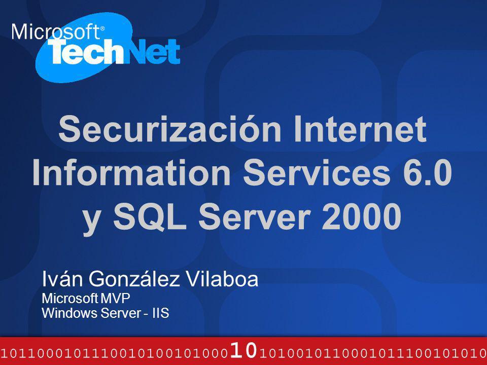 Internet Information Services 6.0 ¿Qué es.Proporciona a Windows...