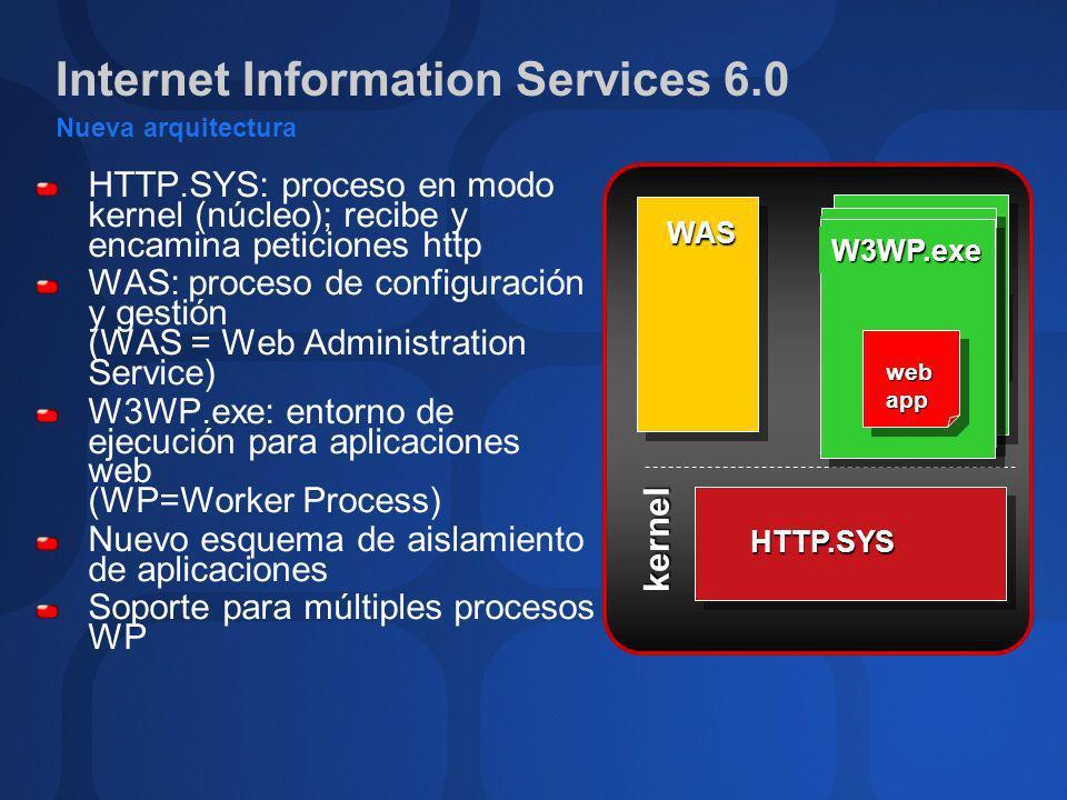 Internet Information Services 6.0 Administración y gestión Metabase en formato XML - ¡Menos reinicios.