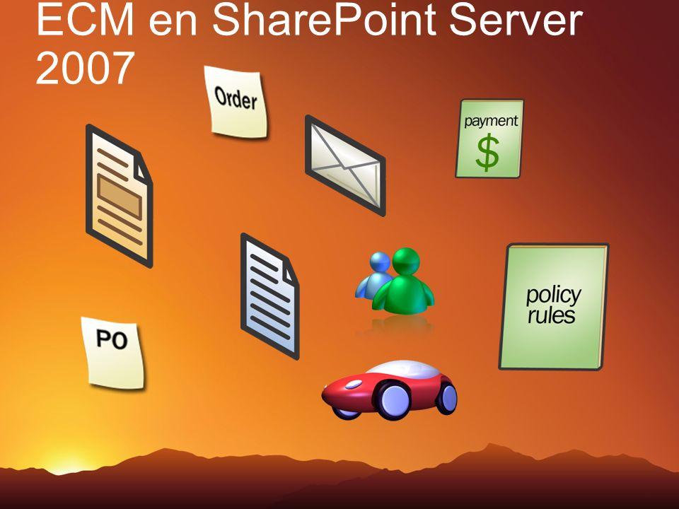 ECM en SharePoint Server 2007