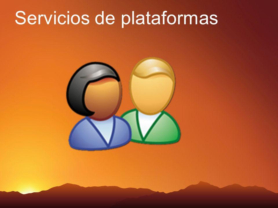 Servicios de plataformas