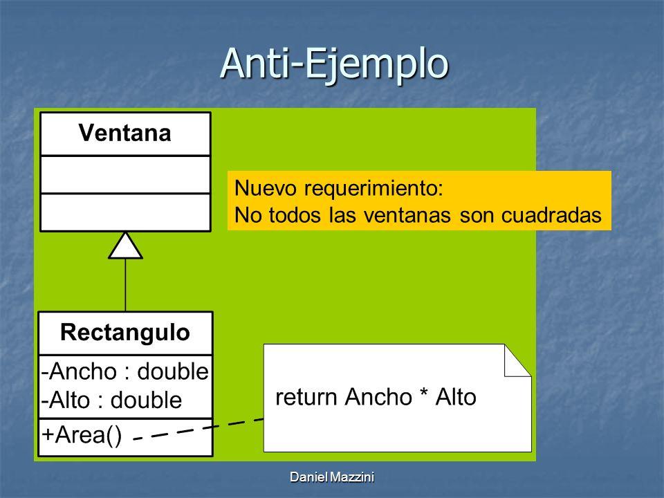 Daniel Mazzini Anti-Ejemplo Nuevo requerimiento: No todos las ventanas son cuadradas