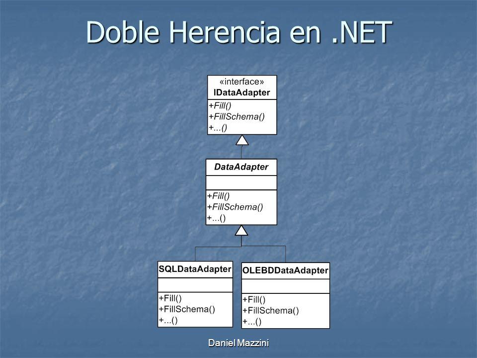 Daniel Mazzini Doble Herencia en.NET