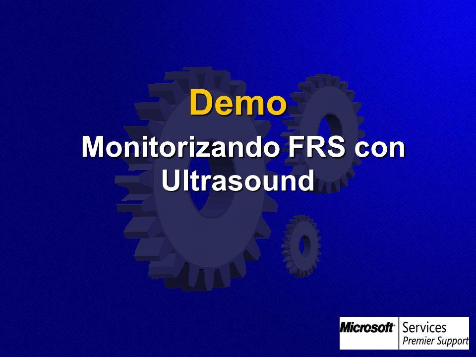 Demo Monitorizando FRS con Ultrasound Demo Monitorizando FRS con Ultrasound