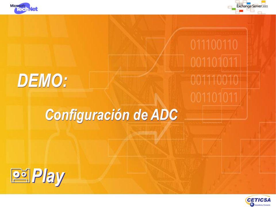 DEMO: Configuración de ADC DEMO: Configuración de ADC Play