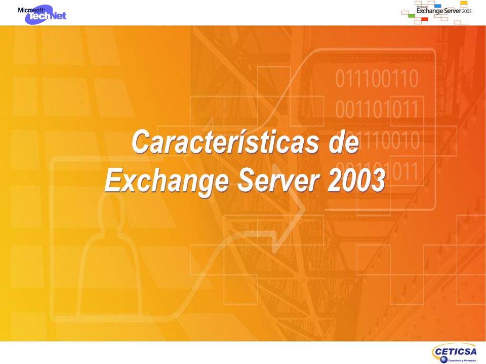Migraciones v5.5-v2003: Migración Incremental – Preparación AD Comprobación de derechos y permisos H:\support\ExDeploy>exdeploy.exe /s:srvadg2:389 /gc:shovelhead /t:OrgPrepCheck /p:g:\prueba\OrgPrepCheck Actualización del Schema de Windows Server 2003 Setup /forestprep (Schema Admin, Enterprise Admins), cuidado, porque aún no indica extender la organización, la crea sin nombre.