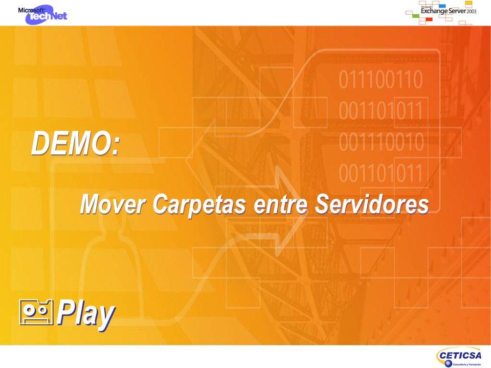 DEMO: Mover Carpetas entre Servidores DEMO: Mover Carpetas entre Servidores Play