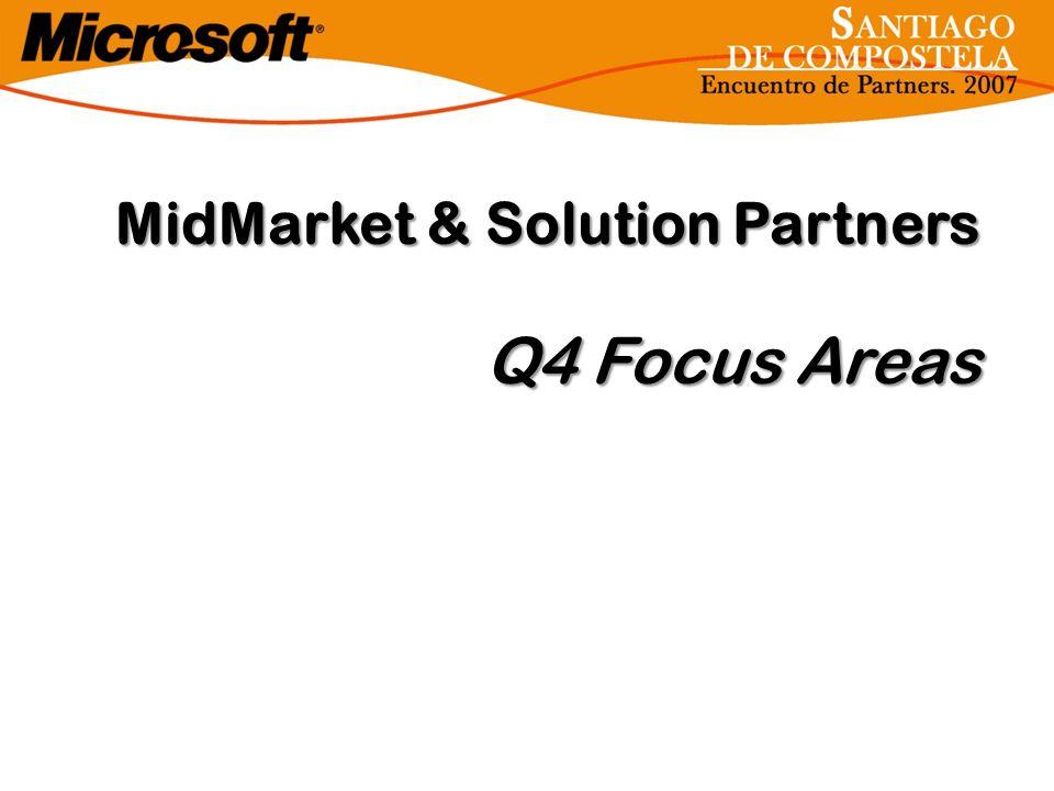 MidMarket & Solution Partners Q4 Focus Areas