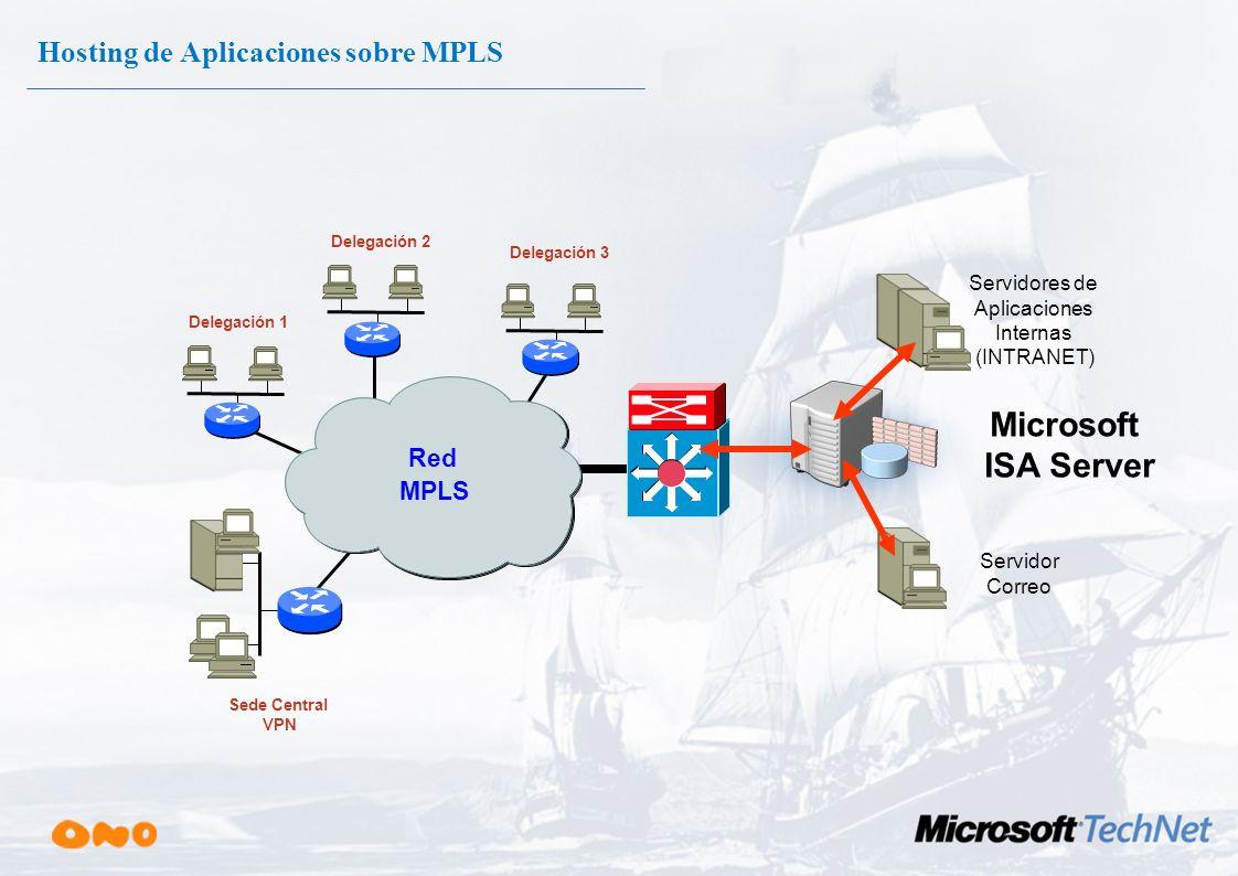 Visibilidad parcial entre VPNs ip vrf vpn_C rd 12457:56 route-target import 12457:100 route-target export 12457:100 route-target import 12457:101 rout