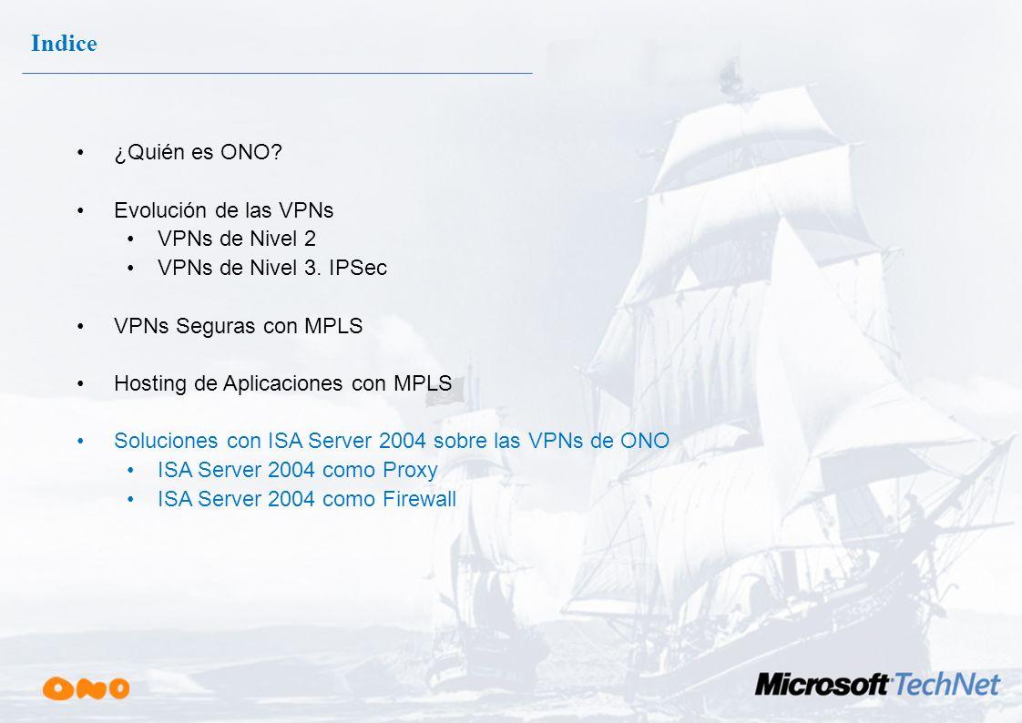 Hosting de Aplicaciones sobre MPLS ip vrf vpn_cliente rd 12444:406 export map direcciones_loopback route-target export 12444:406 route-target import 1