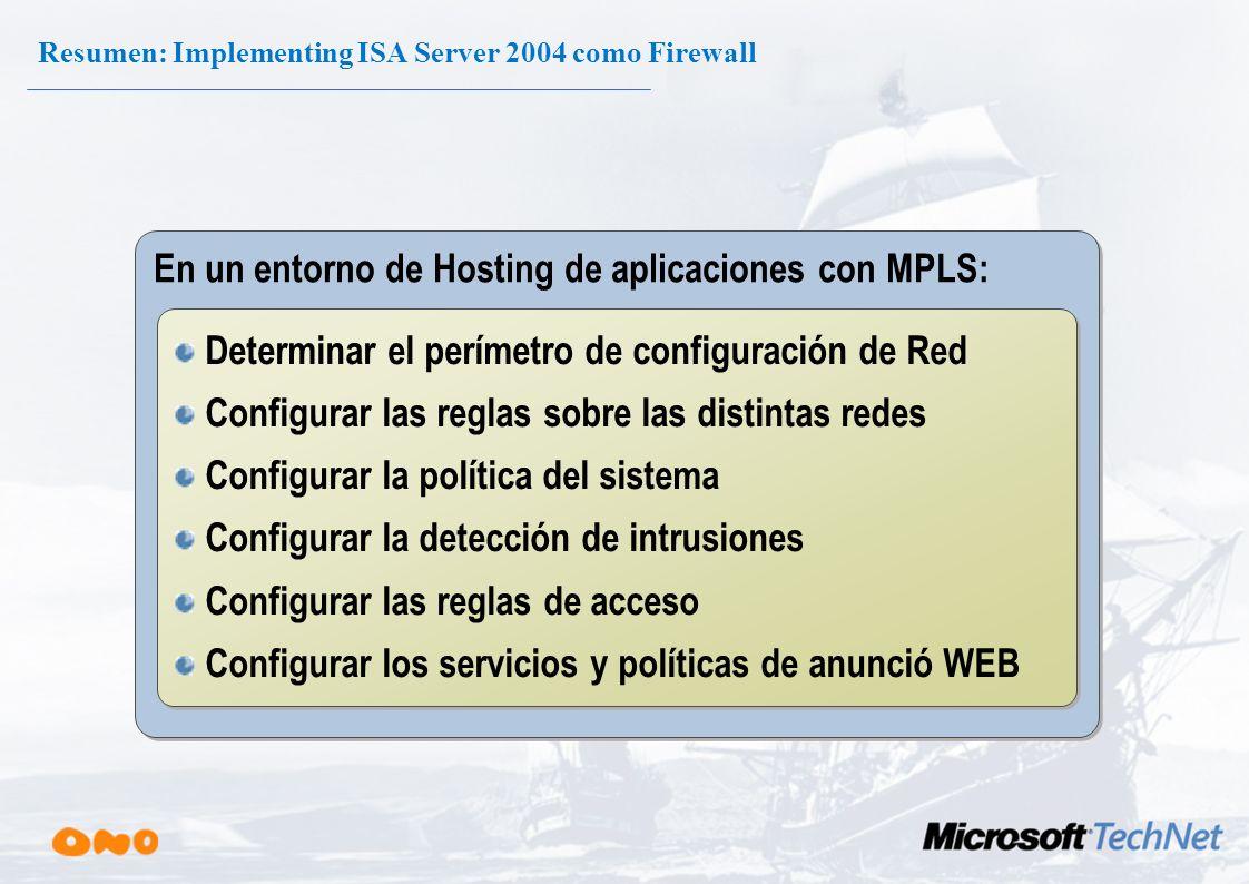 Filtrado del tráfico de red en ISA Server 2004 TCP/IP Ingenieria Firewall Servicios de Firewall Filtrado de Aplicaciones Filtrados Proxy WEB Reglas De