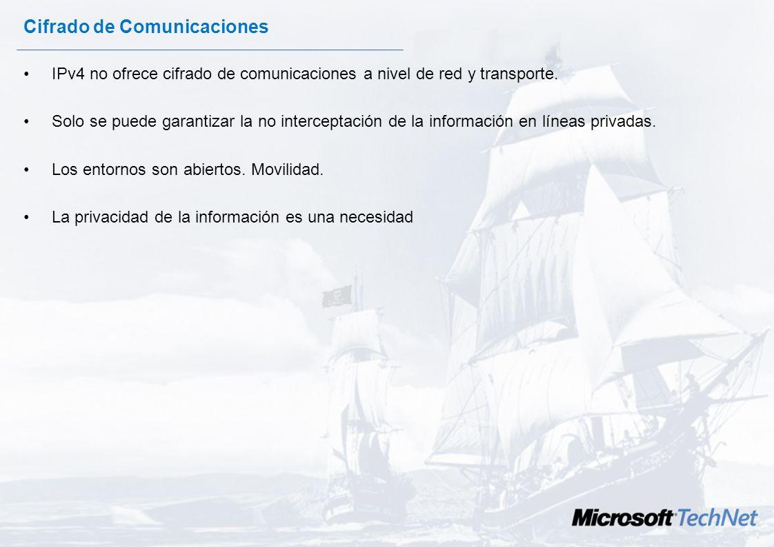 Cifrado y autenticado de conexiones con IPSec en redes Windows 2003. Con la participación de: y José Parada Gimeno Evangelista Microsoft TechNet Chema