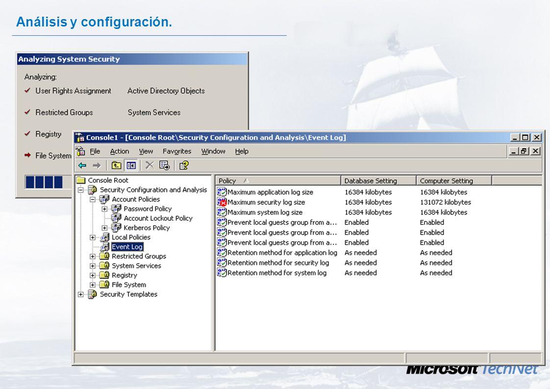 Configuración y Análisis de la Seguridad. Es una herramienta con doble objetivo: –Proporcionar los mecanismos para comparar la seguridad de una máquin