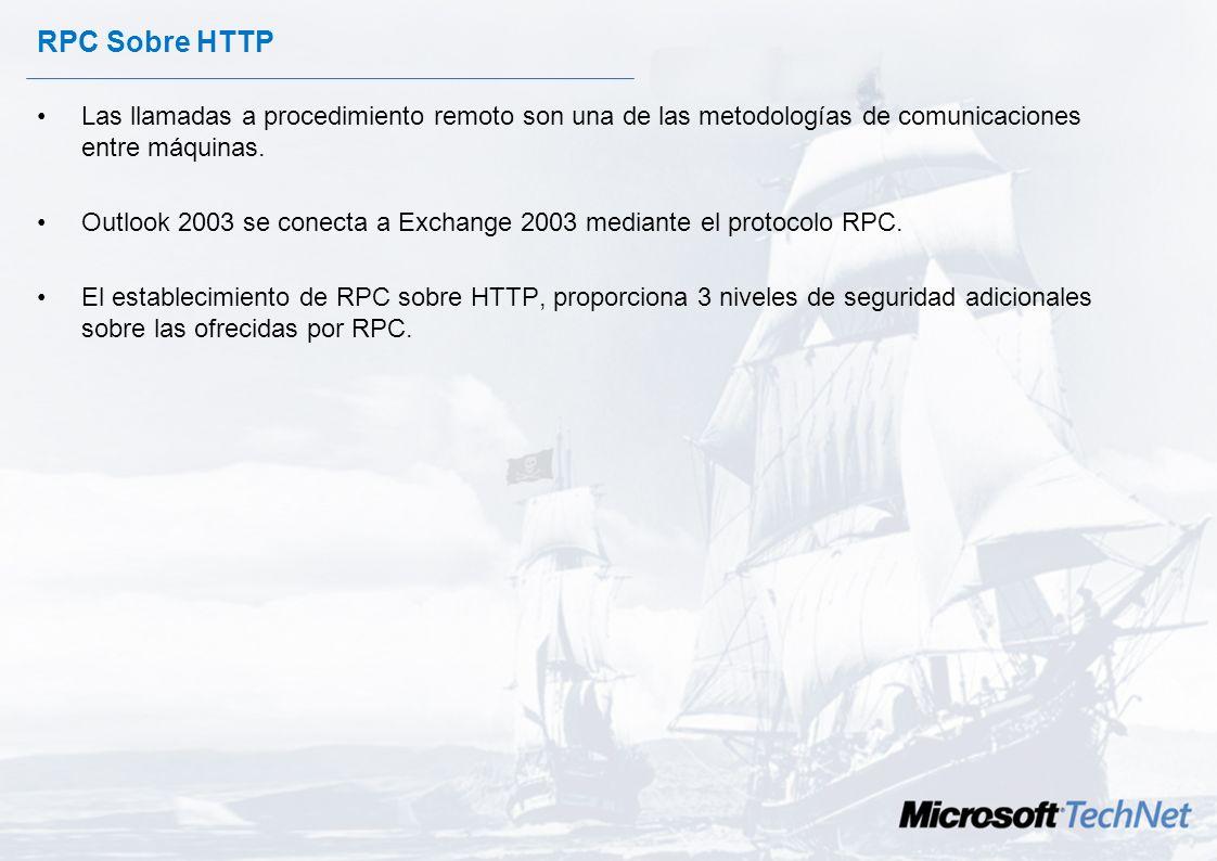 RPC sobre HTTPs Con la participación de: y José Parada Gimeno Evangelista Microsoft TechNet Chema Alonso MVP Windows Server Security