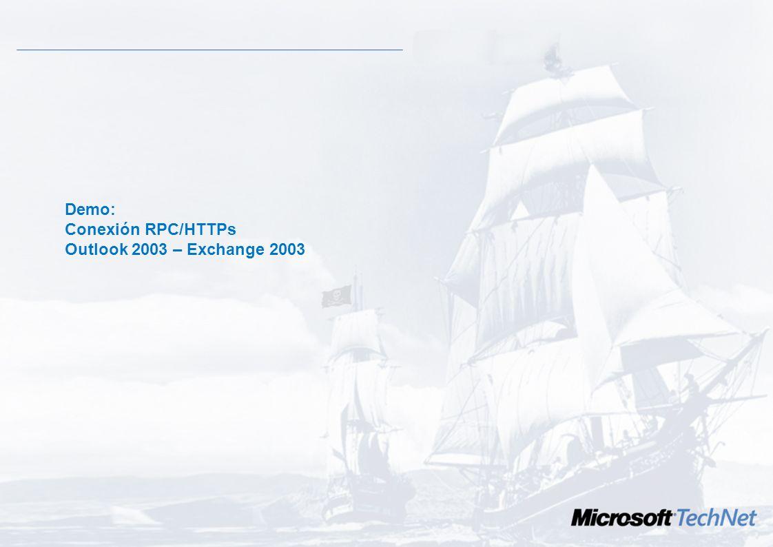 Exchange como servidor RPC