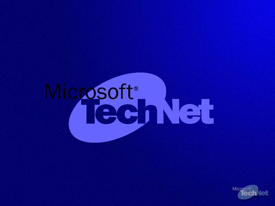 Próximo Webcast Como Implementar Seguridad en Entornos Cliente Windows XP y Windows 2000 24 marzo – 17:00 h Registro en: www.microsoft.com/spain/TechNet www.microsoft.com/spain/TechNet