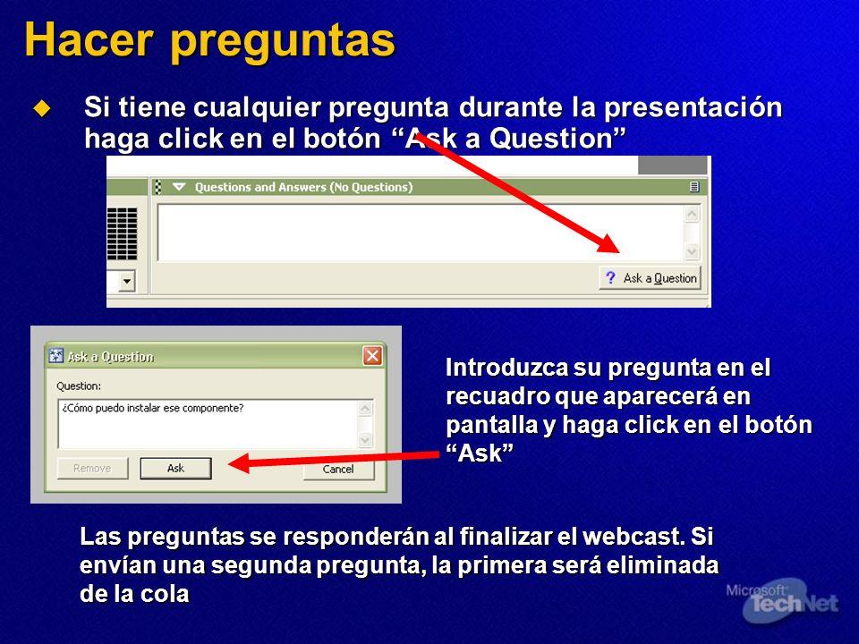 Objetivos de seguridad en una red Defensa del perímetro Defensa de los clientes Detección de intrusos Control de acceso a la red Confidencialidad Acceso remoto seguro Servidor ISA Firewall de Windows 802.1x / WPA IPSec