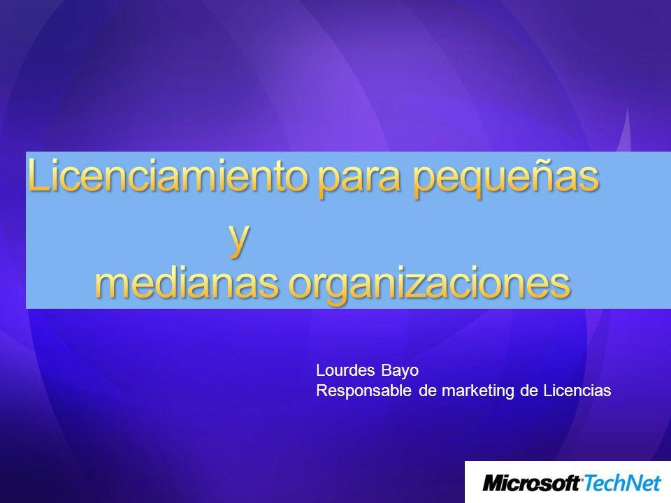 Lourdes Bayo Responsable de marketing de Licencias