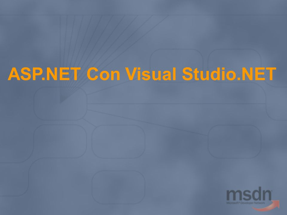 ASP.NET Con Visual Studio.NET