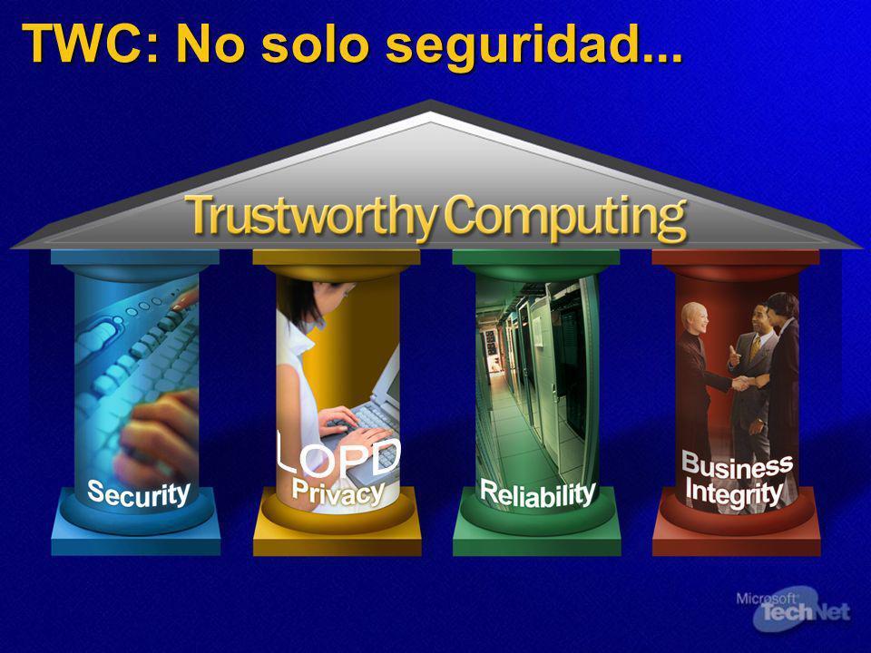 TrustWorthy Computing en Microsoft Ibérica Modificación del comportamiento de Internet Explorer 6.0 SP1 para facilitar el uso de Certificados Cualificados tal y como los requiere el proyecto del DNI electrónico.