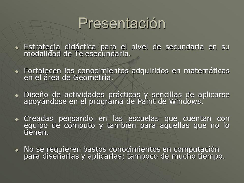 Presentación Estrategia didáctica para el nivel de secundaria en su modalidad de Telesecundaria. Estrategia didáctica para el nivel de secundaria en s