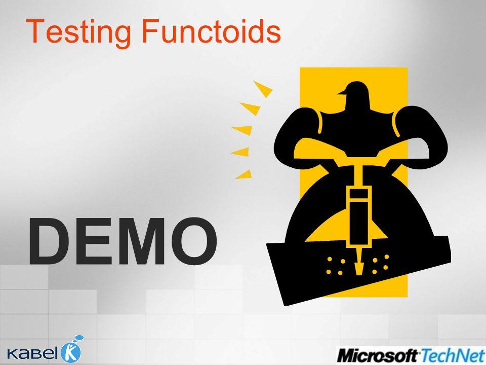 Testing Functoids DEMO