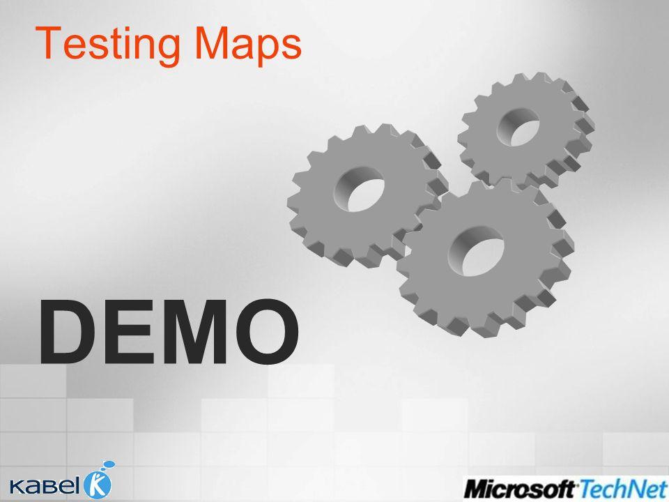 Testing Maps DEMO