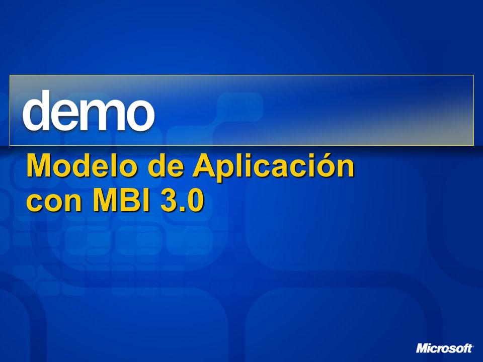 Modelo de Aplicación con MBI 3.0