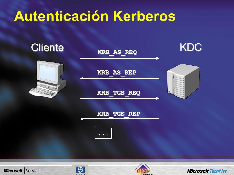 Vulnerabilidad Kerberos Casi todo el mundo conoce las debilidades de LM/NTLM. El Sniffing de Kerberos es menos conocido Muchos administradores todavía